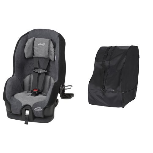 Evenflo Tribute LX Convertible Car Seat, Saturn with Car Seat Travel & Storage Bag