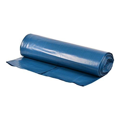 VARIOSAN Müllsäcke 10933, 120 L, extra stark, 20 Stück, 70 µ, Typ 100 extra, blau