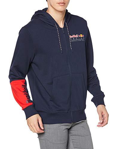 PUMA RBR Logo Hooded Sweatjacke für Herren M Schwarz