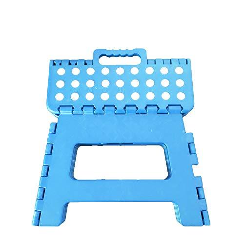 Gaorui(ガオルイ)踏み台 子供用 折り畳み式 ステップ コンパクト スツール 脚立 大人 ブルー