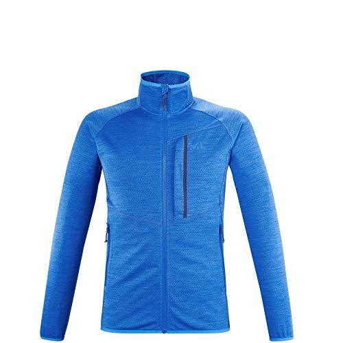 Millet - Lokka JKT II M - Veste Thermique Homme - Respirante - Alpinisme, Approche, Randonnée, Lifestyle - Bleu