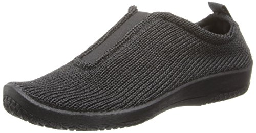 Arcopedico Women's Black ES Slip-on Shoe 7-7.5 M US