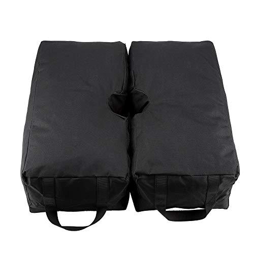 2 Piezas Desmontables Paraguas Cuadrados Peso Base para Cualquier Compensación Cantilever Paraguas de Patio Al Aire Libre Stand Replace Ugly Sand Bag