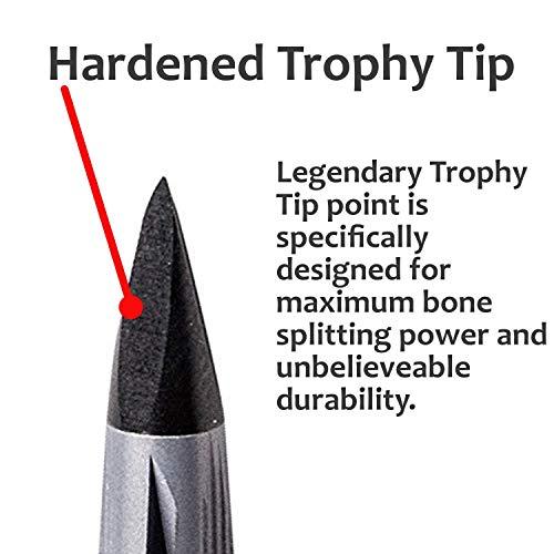 NAP Killzone Mechancial Broadhead 100 Grain Two Blade 2' Cutting Diameter Trophy Tip 3 Pack