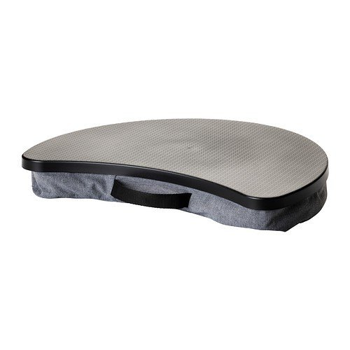 Ikea BYLLAN Laptophalter in grau