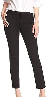 Women's Sloan Slim Black Ankle Pant (10)