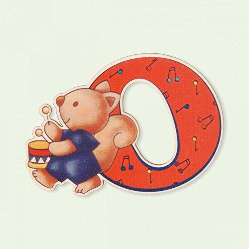 Dida - Lettre O Bois Enfant - Lettres Alphabet Bois pour Composer Le nom de Votre bébé et décorer la Chambre