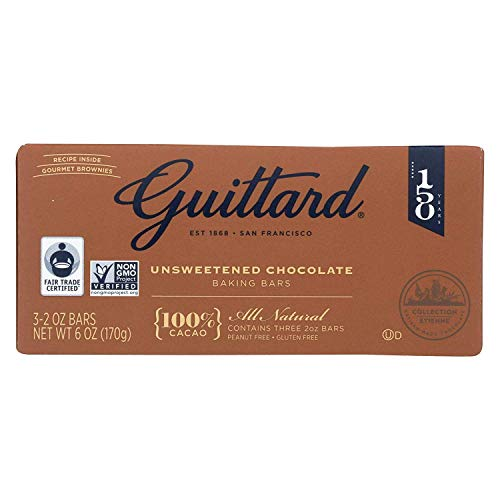 Guittard Chocolate 100% Unsweetened 6 Oz (Pack Of 12)