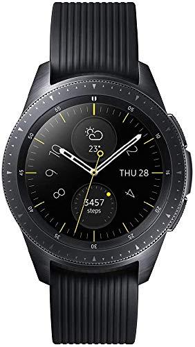 Samsung Galaxy Watch reloj inteligente Negro AMOLED 3,05 cm (1.2') GPS (satélite) - Relojes inteligentes (3,05 cm (1.2'), AMOLED, Pantalla táctil, GPS (satélite), 49 g, Negro)