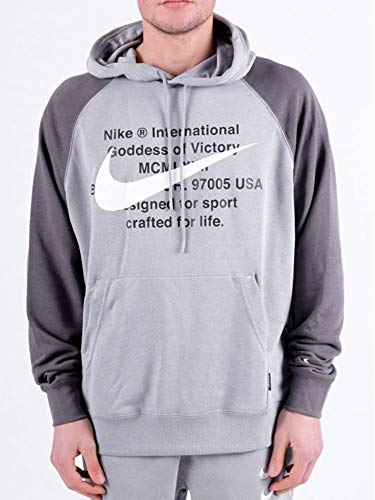 Nike Herren CJ4863 Anorak, Particle Grey/Iron Grey/White, XS