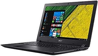 Acer Aspire 3 Intel Core I3-7020U,15.6 Inch, 4Gb Ddr4,1Tb, English-Arabic Keyboard, Win10, Black-A315-53-34Ce