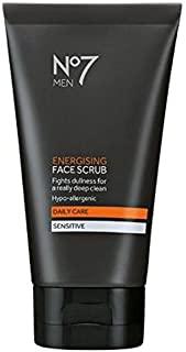 No7 Men Energising Face Scrub 150Ml - Pack of 2 by No. 7