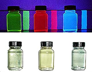 Invisible Transparent UV Reactive Blacklight Paint - Red