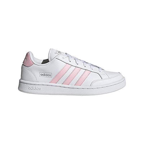 adidas Grand Court SE, Zapatillas de Tenis Mujer, FTWBLA/ROSCLA/Plamet, 42 EU