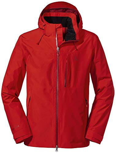 Schöffel Herren Jacket Padon M, wasserdichte und winddichte Regenjacke, atmungsaktive Outdoor Jacke mit ZipIn! Funktion