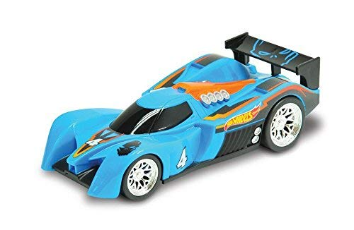 Toy State- Hot Wheels Cars Coches con luz y Sonidos y retrofricción, Color Amarillo (90533)