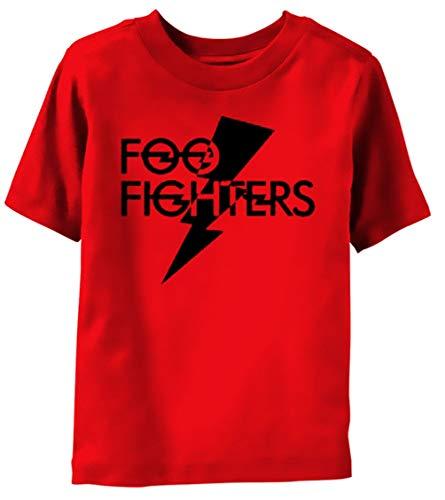 Foo Fighters - Camiseta de Manga Corta para niños