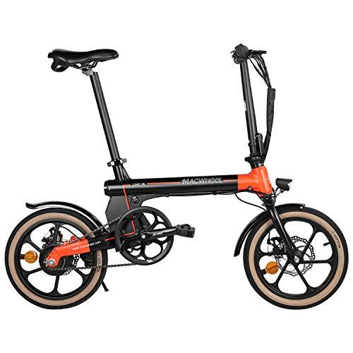Macwheel Electric Bike, 16' Ebike, 250W Brushless Motor, Electric Adult Bike, 36V 7.5Ah Lithium Battery, 15.5MPH Max, City Ebike