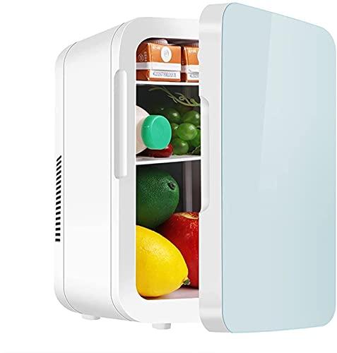 Peakfeng 4L Coche pequeño refrigerador Mini pequeño Dormitorio Dormitorio Dormitorio Alquiler Coche Coche de Dos propósitos Estudiantes refrigerado calefacción (Size : 6L)