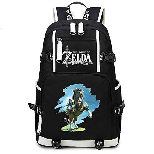 Gumstyle The Legend of Zelda Game Cosplay Casual Rucksack Schultertasche Schultasche für Jungen Mädchen Studenten 9
