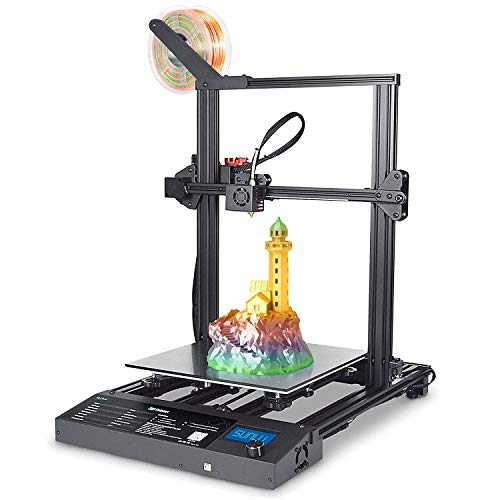 Impresora 3D del modelo de doble eje Sunlu S8 con la impresión del currículum y la detección de filamentos, Dual Z, 310 mm x 310mm x 400mm