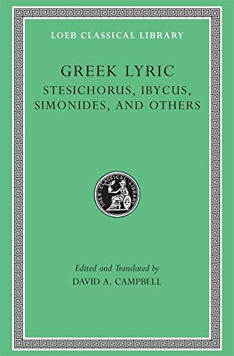 Greek Lyric: 476