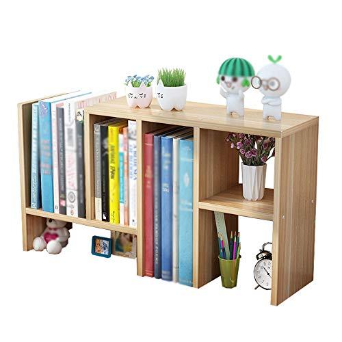 DS- Bibliothèque Bibliothèque - Étagère de Bureau Simple pour Enfants Petite bibliothèque Mini Rack de Stockage Multicouche pour étudiants && (Couleur : A)