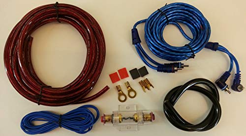 Kit de câbles d'amplificateur + porte-fusible pour système stéréo de voiture