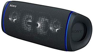 Sony SRS-XB43 EXTRA BASS Wireless Portable Speaker IP67 Waterproof BLUETOOTH 24 Hour Battery and Built In Mic for Phone Calls, Black
