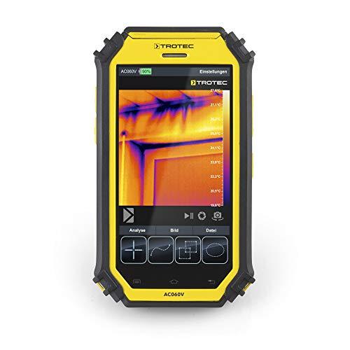 TROTEC Wärmebildkamera AC060V Infrarotkamera Ortung Leckortung Tablet Prüfgerät Messgerät