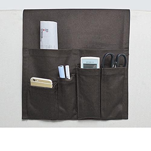 Organizador del apoyabrazos del sofáEl apoyabrazos del sofá contiene los artículos varios y piezas pequeñas para colocar los suministros digitales, organizar el teléfono móvil y el estuche-G