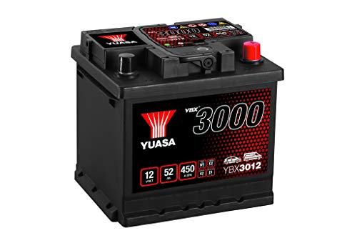 Yuasa YBX3012 12V 52Ah 450A SMF Battery