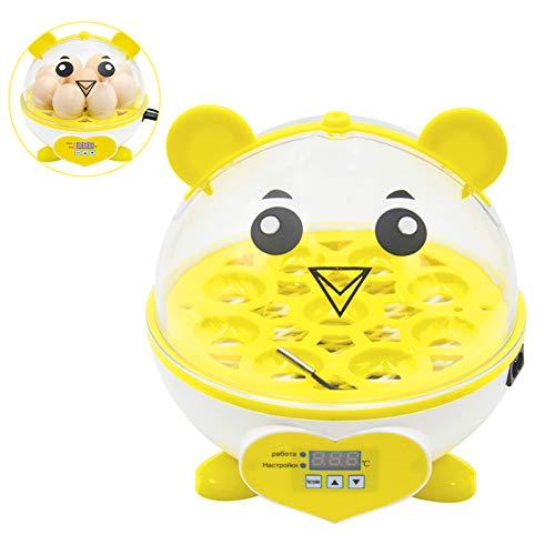 Smart Mini Home 9 huevos incubadora Control automático de temperatura huevo girando pollo pato codorniz aves huevo incubadora