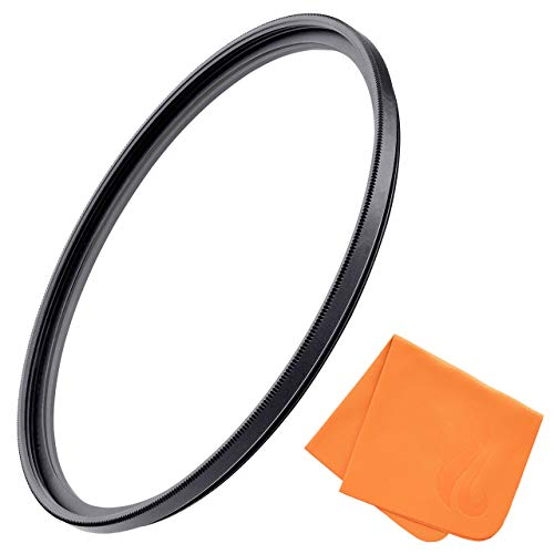 55mm UV Filter for Camera Lenses, Ultraviolet Protection Lens Filter for Doing Outdoor & Professional Photography, MRC4 Protection, Ultra-Slim, Weather-Sealed by Fire Filters
