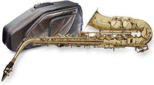 Stagg 77sa/SC es de saxofón alto con Soft Case