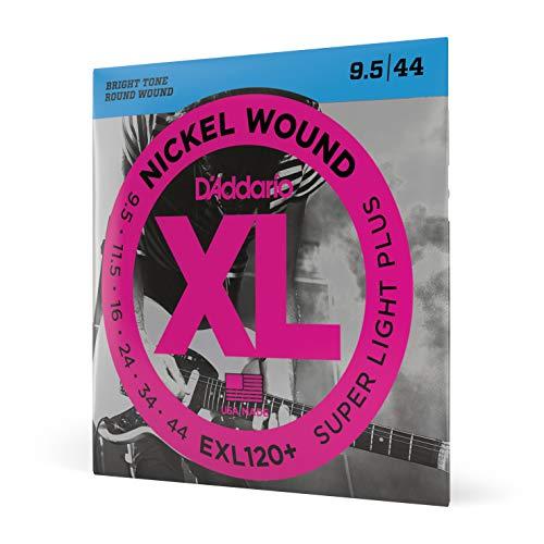 D'Addario EXL120+ Satz E-Gitarren-Saiten Super Light 0095' - 044'