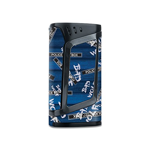 MightySkins Skin Compatible with Smok Alien 220W TC - Time Travel Boxes | Protective, Durable, and Unique Vinyl Decal wrap Cover | Easy to Apply, Remove, and Change Styles | Made in The USA