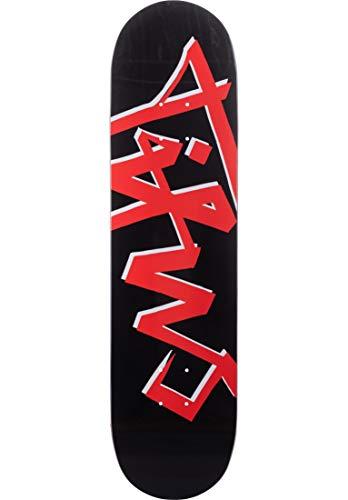 TITUS Skateboard Deck Scratch, Black, 8, aus 7 Schichten Ahornholz, Jugendliche, Erwachsene, Anfänger, Profis, guter Pop, leicht und stark