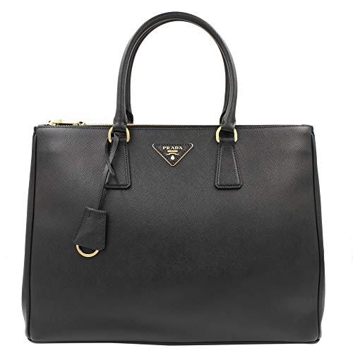 Prada Saffiano 1ba786nzvf0002 Handtasche, Schwarz - Schwarz - Größe: Einheitsgröße