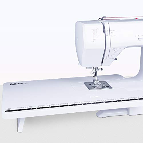 Sewing Machines Household Portable Electric Multi-Function Metal Frame 200 Stitches with Large Extender Table