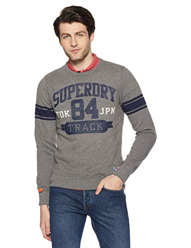 Superdry Track & Field Crew suéter para Hombre