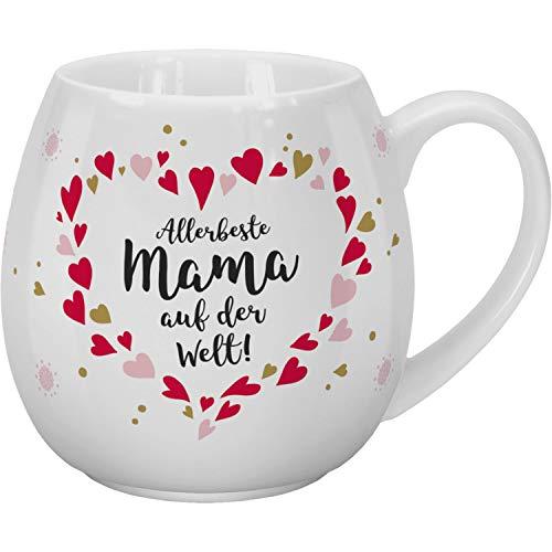 Sheepworld 46315 Tee Allerbeste Mama, 45 cl, Porzellan, in Geschenk-Banderole Tasse