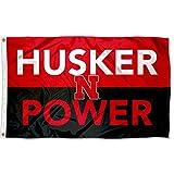Nebraska Cornhuskers Husker Power Large Outdoor Banner Flag