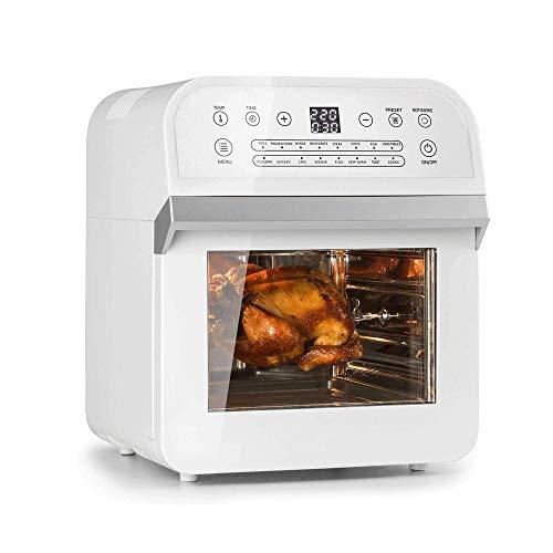 YFGQBCP Aire Fryer, 1230W sin Aceite Airfryer, Lavavajillas Cesta Segura, Temporizador, y desconexión automática de Sana Comida frita