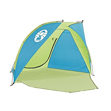 Coleman Compact Shade Shelter, Blue/Lime