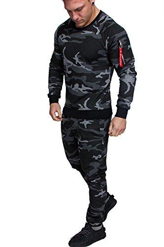 Amaci&Sons Camouflage Schwarz M