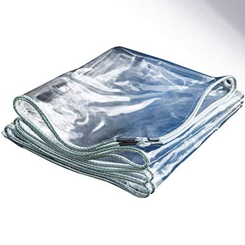 ALGWXQ Lonas Transparente De Vidrio Suave Fácil De Usar Invernadero Patio Balcón Cubierta De Protección contra El Polvo Carpa A Prueba De Lluvia Y Viento, 22 Especificaciones