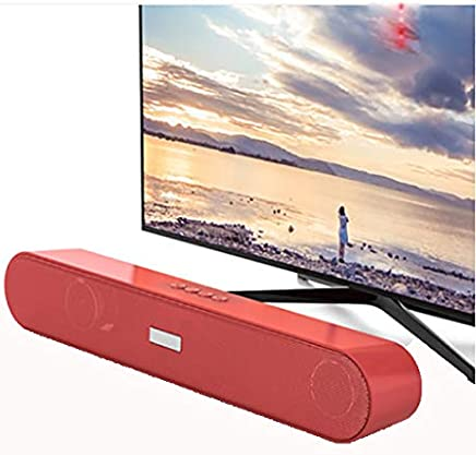 ZZWBOX Altoparlante Mini Computer, Altoparlante multimediale USB da 3,5 mm per PC Notebook Tablet MP3 / MP4, Corpo Compatto, 3D Surround Sound,Red - Trova i prezzi più bassi