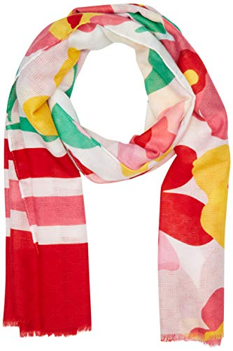 United Colors of Benetton Damen Sciarpa Schal, Mehrfarbig (Multicolore 82p), One size (Herstellergröße: OS)