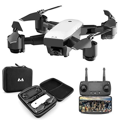 Laurelmartina Foldabe 6 Ejes Gyro Mini WiFi Drone con Gran Angular 1080P HD cámara SMRC S20 2.4G Altitude Hold RC Quadcopter
